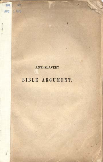 The Argument from the Bible (1996)