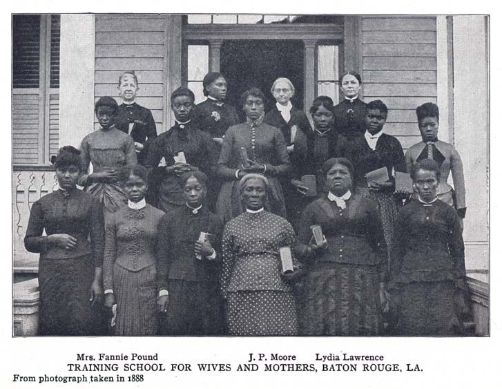 Training School for Wives and Mothers Baton Rouge