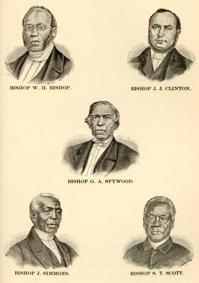 John Jamison Moore, 1818-1893  History of the A  M  E  Zion