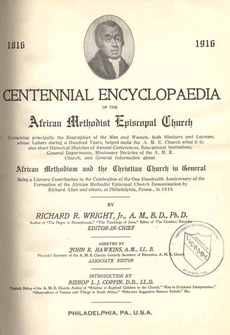 Richard R  Wright (Richard Robert), b  1878  Centennial