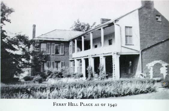 John Blackford. Ferry Hill Plantation Journal