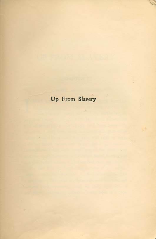 booker t washington up from slavery an autobiography illustration