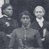 "Mrs. Fannie Pound J.P. Moore Lydia Lawrence Training School for Wives and Mothers from ""The Church in the Southern Black Community"" Collection"