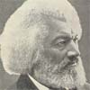 "Portrait of Frederick Douglass from the autobiography Life and Times of Frederick Douglass from ""The North American Slave Narratives"" Collection"