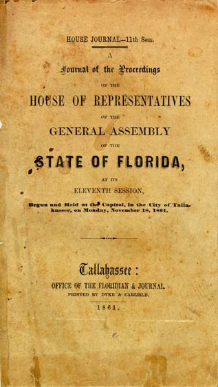 florida  general assembly  house of representatives  a