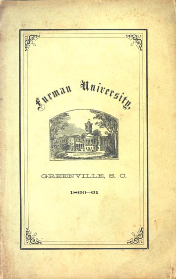 b0947b5777cdd Furman University. A Catalogue of the Officers and Students of ...