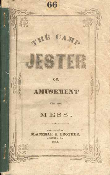 The Camp Jester, or, Amusement for the Mess