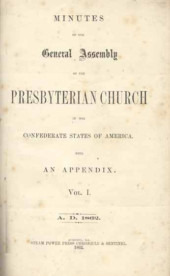Presbyterian Church in the Confederate States of America