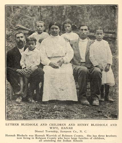 George Edwin Butler 1868 1941 The Croatan Indians Of