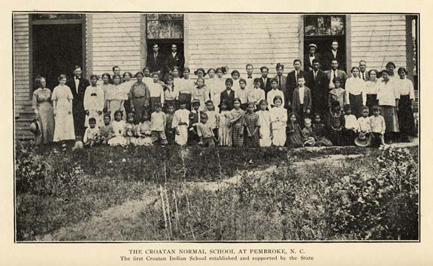 The Croatan Normal School at Pembroke, N.C. - The North Carolina Experience