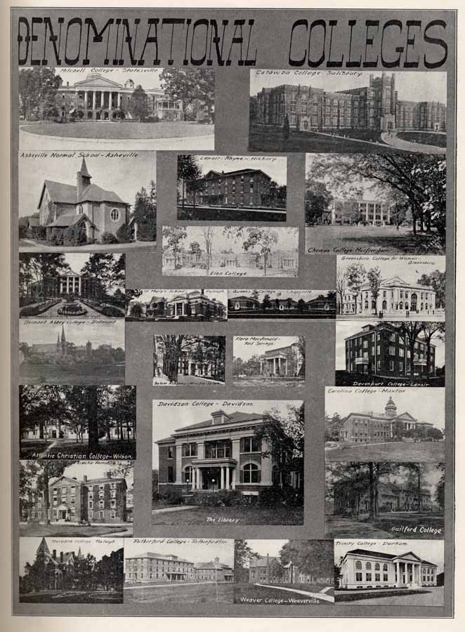 Asheville Nc Colleges And Universities >> Albert Y. Drummond. Drummond's Pictorial Atlas of North Carolina.