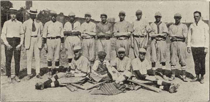 Pomona Mills Baseball Team of 1920 - The North Carolina Experience