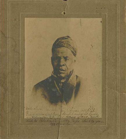 Portrait Photograph of Omar Ibn Said - North American Slave Narratives