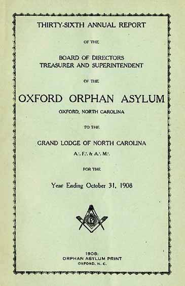 oxford orphan asylum  oxford  n c    thirty
