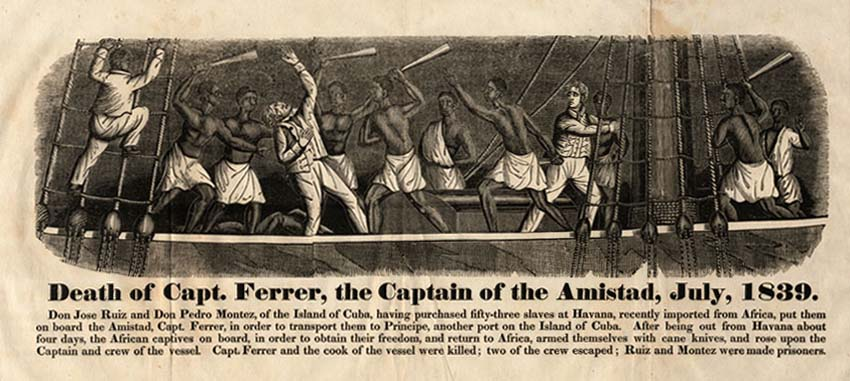 a history of the amistad case 2018-08-16  the amistad case is one of the most important to ever come before us courts  expansion: the amistad case  history of the amistad trials  instead, the pair steered the ship along the coast of the united states.
