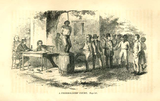 Hangings--South Carolina. Slaves--South Carolina.