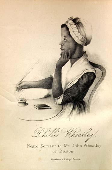 Phillis Wheatley, 1753-1784  Margaretta Matilda Odell