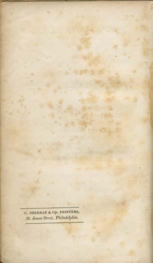 John Pendleton Kennedy, 1795-1870  Swallow Barn, or, A