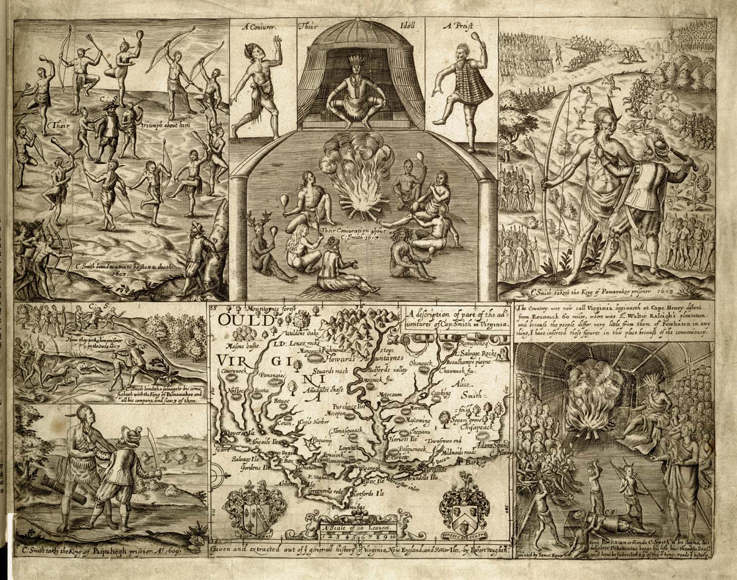 John Smith, 1580-1631  The Generall Historie of Virginia