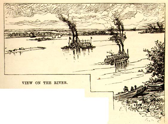 twain mark 18351910 quotlife on the mississippiquot