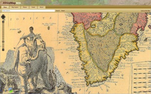 AfricaMap screenshot