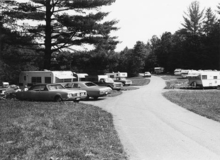Campground at Linville Falls