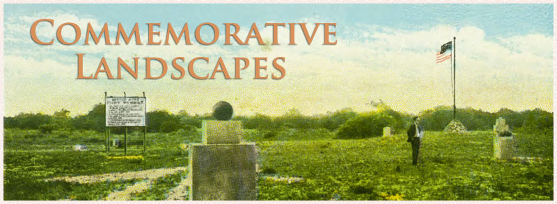 Commemorative Landscapes banner