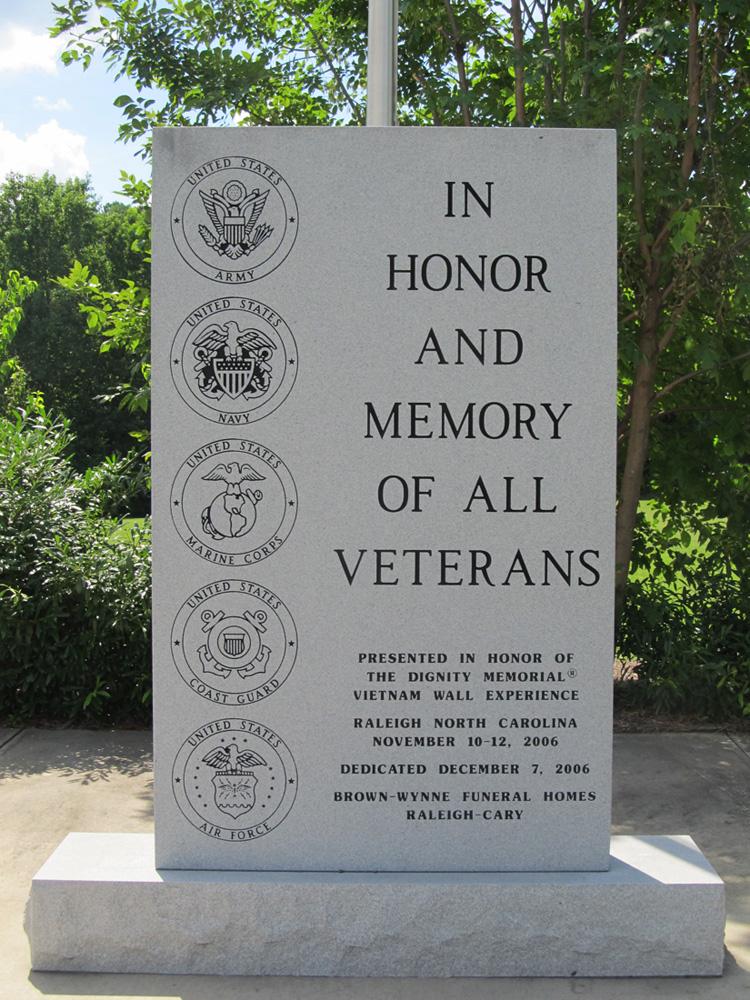 National Veterans Freedom Park Ncpedia