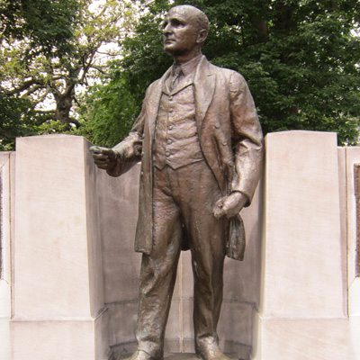 Charles Brantley Aycock Statue, Raleigh. Photo courtesy Donald Burgess Tilley Jr.