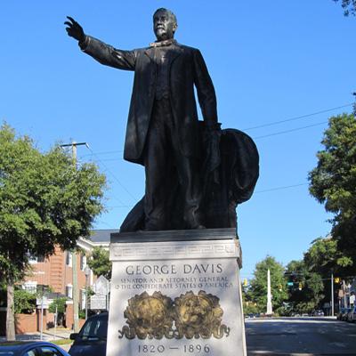 George Davis Monument, Wilmington.  Photo courtesy of Natasha Smith.
