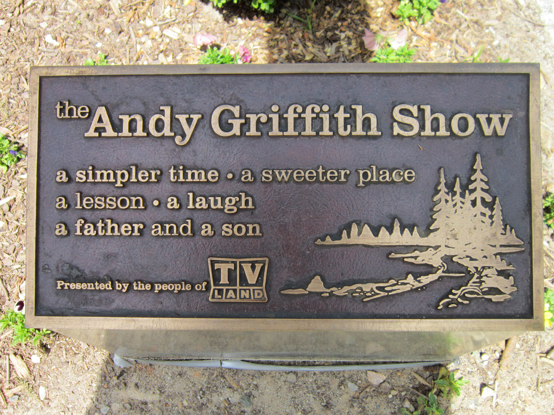 Andy Griffith Monument Raleigh Ncpedia