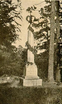 First Confederate Monument Erected in North Carolina