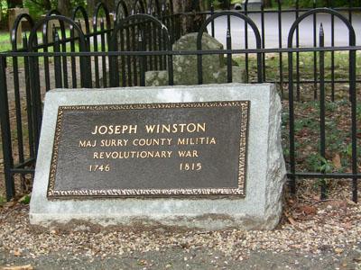 Joseph Winston Grave