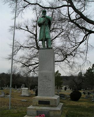 Confederate Soldiers Monument (1888), Greensboro. Photo courtesy of Tom Vincent of North Carolina Civil War Memorials.
