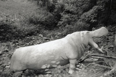 Photo of Hippo by Smithsonian Inventory of American Sculpture