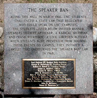 Speaker Ban Monument. Photo courtesy Kami LaBerge.