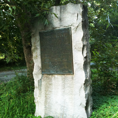 Thomas Lloyd Monument, Chapel Hill.  Photo courtesy of Olivia  S. Stoneman.