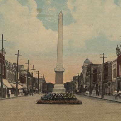 Governor Caswell Monument