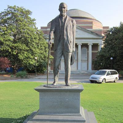 Benjamin Newton Duke, Duke University. Photo courtesy Donald Burgess Tilley Jr.