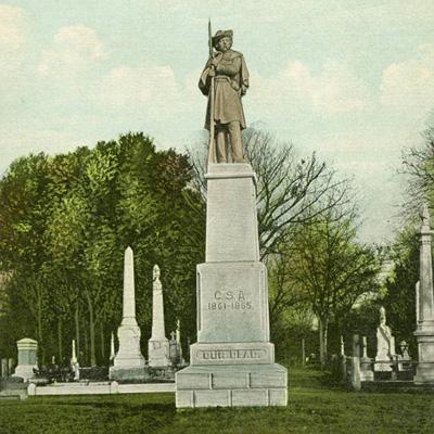 Confederate Monument, Cedar Grove Cemetery, New Bern