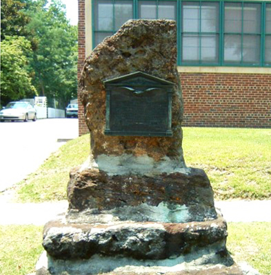 Arsenal Monument, Fayetteville. Photo courtesy markeroni.com
