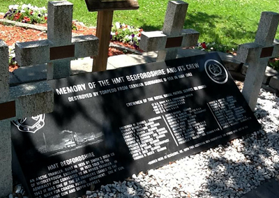 HMT Bedfordshire Memorial, Ocracoke