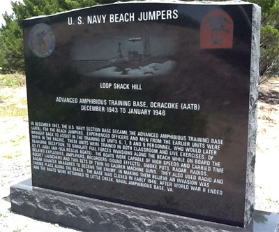U.S. Navy Beach Jumpers, Ocracoke