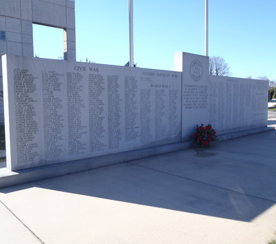Alamance County War Memorial, Graham.  Photo courtesy of Kelly J. Agan.