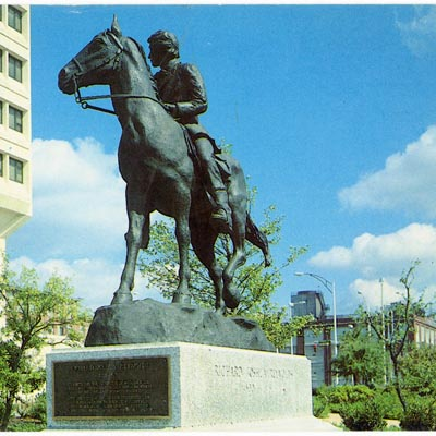 Richard Joshua Reynolds Equestrian Memorial, Winston-Salem.