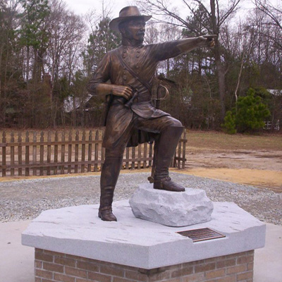 Joseph Johnston Monument, Bentonville. Courtesy of Richard Phillips, NCDAH