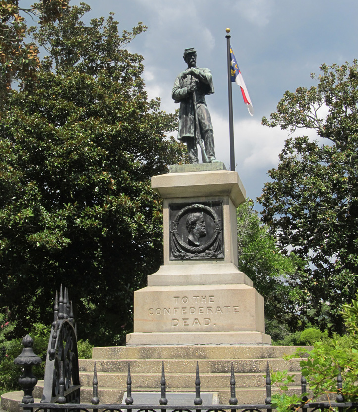 Commemorative Landscapes of North Carolina | Confederate