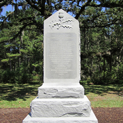 Moores Creek Loyalist Monument.  Photo courtesy of  Erin R. Corrales-Diaz.