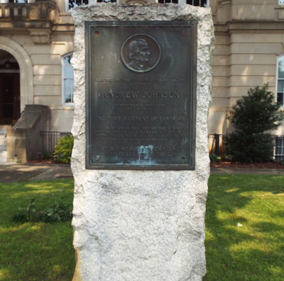 Andrew Johnson Monument, Carthage