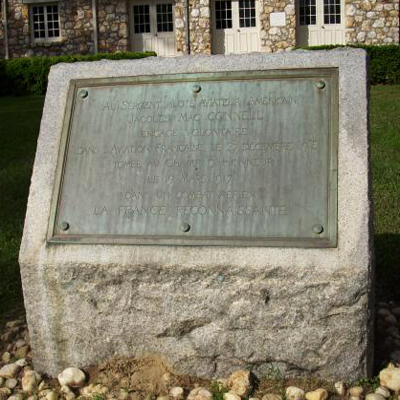 Jacques MacConnell (James McConnell) Memorial, Carthage. Courtesy of Markeroni.com.